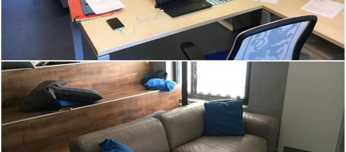 Möbel fürs NLZ